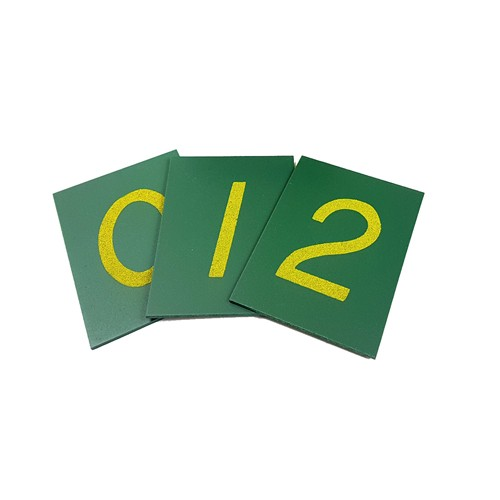 Montessori Small Sandpaper Numerals (unboxed)
