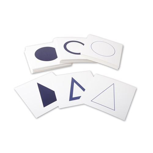 Discount Montessori Geometric Form Cards