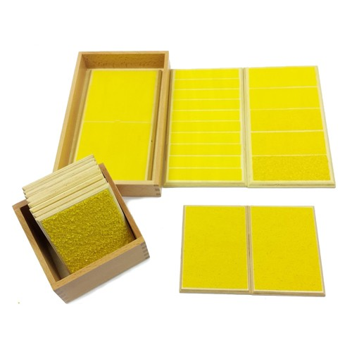 Discount Montessori Rough and Smooth Boards and Touch Tablets