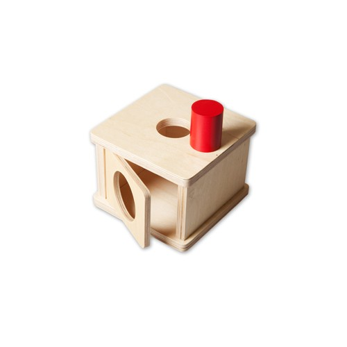 Discount Montessori Imbucare Box with Large Cylinder