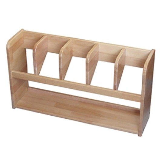 Montessori Stand for 5 Carpets