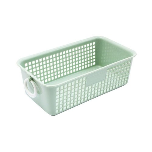 Pale Green Small Plastic Basket