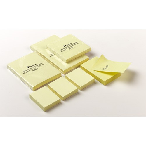 Self-adhesive notepads.