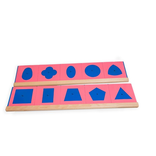 Montessori Metal Insets for design