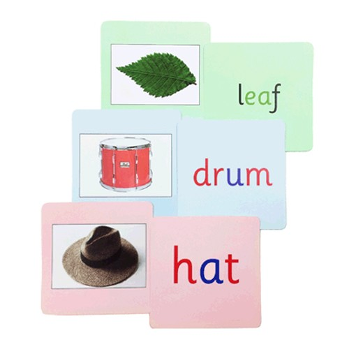 Montessori Phonics Reading Cards
