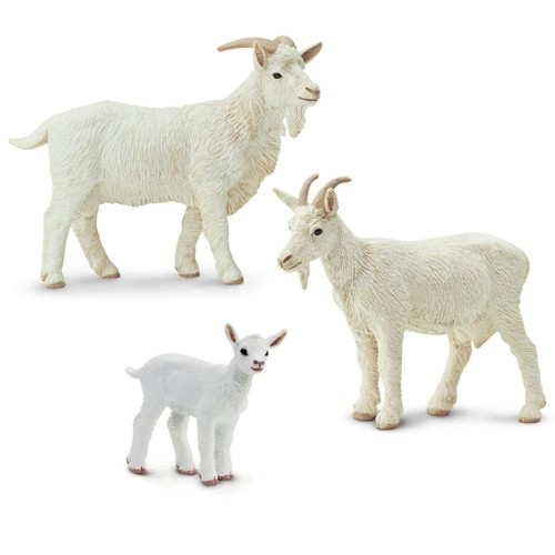 Montessori Goat Family Pack