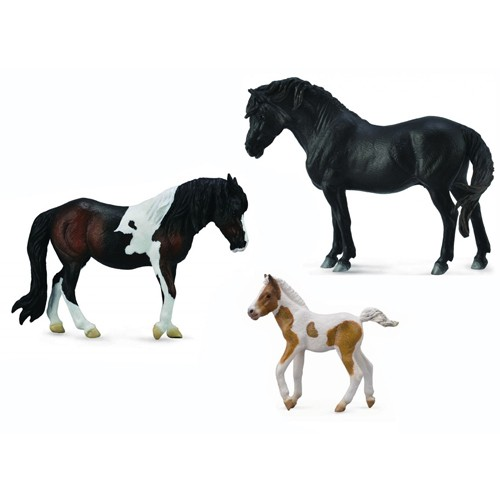 Montessori Pony Family Pack
