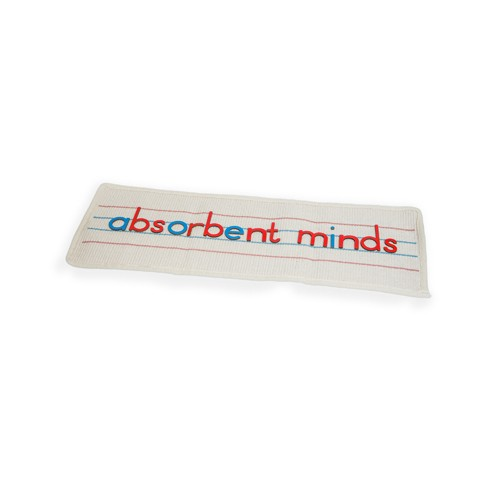 Montessori Spelling Mat for small movable alphabet (single)