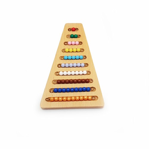 Montessori Holder for the Coloured Bead Stair