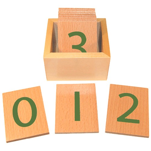 Montessori Numbers Cards 0-10