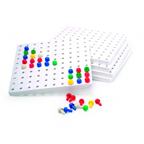 Montessori 5 Peg Boards (no pegs)