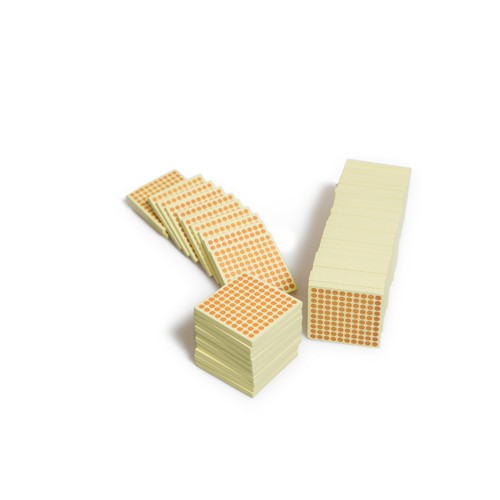 Montessori 50 wooden hundred squares