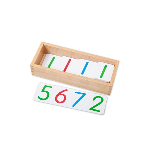 Montessori Box for Small Place Value Cards 1-9999
