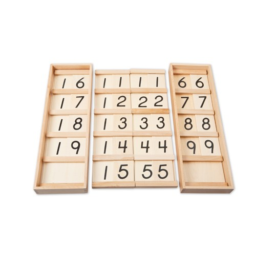 Montessori Teens and Tens Boards