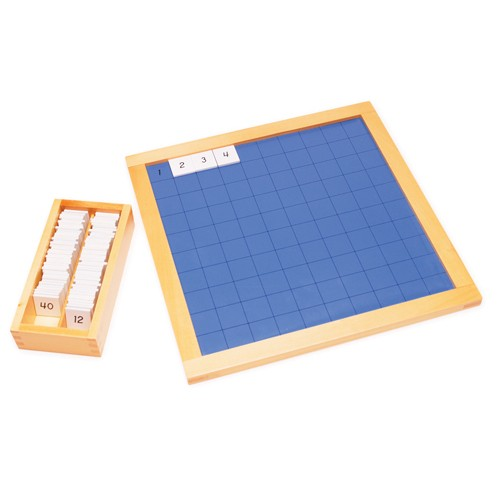 Montessori Hundred Board with Control Chart