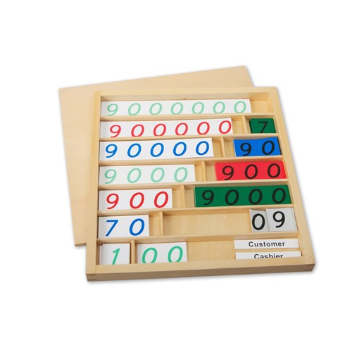 Montessori Bank Game