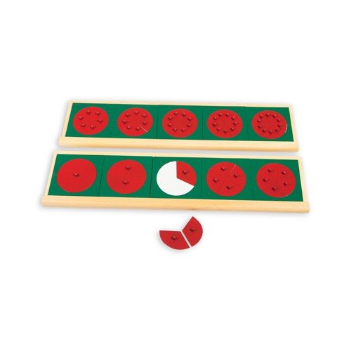 Montessori Wooden Stands for Fraction Circles