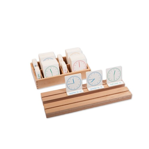 Montessori Clocks Exercise