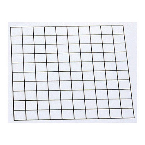Montessori Blank Hundred Grid Stamp