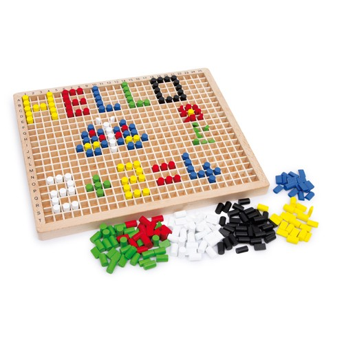Montessori Co-ordinates Exercise Board