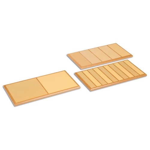 Nienhuis Montessori Rough And Smooth Boards Set