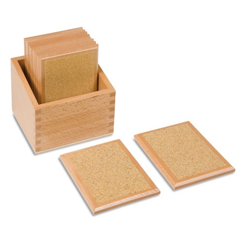 Nienhuis Montessori Rough Gradation Tablets
