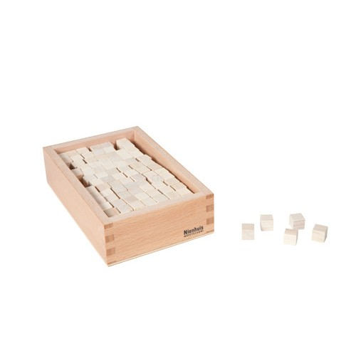 Nienhuis Montessori Box With Cubes For Pink Tower