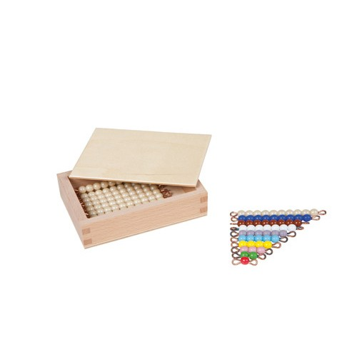 Nienhuis Montessori Teen Bead Box, Individual Beads, Glass