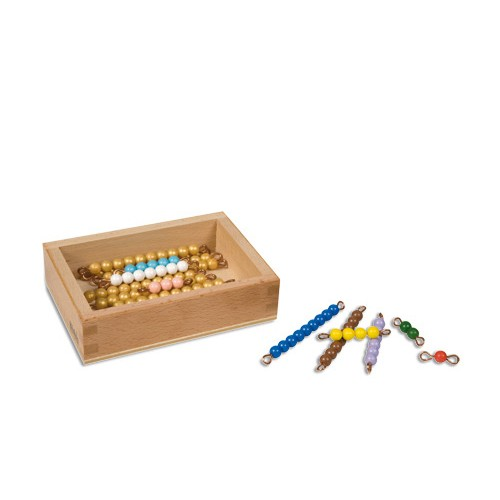 Nienhuis Montessori Teen Bead Box, Individual Beads, Nylon