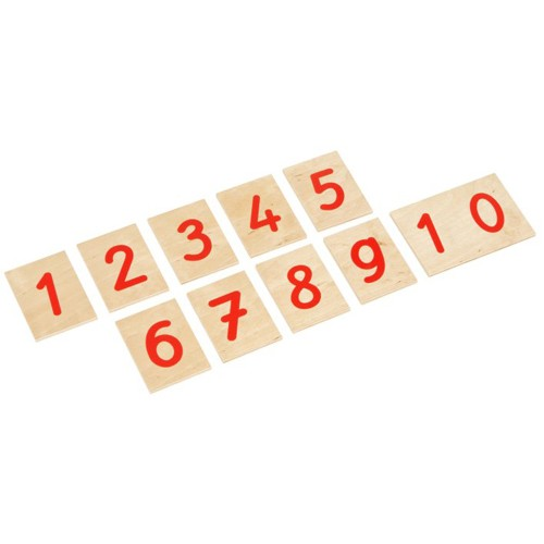 Nienhuis Montessori Printed Numerals: International Version