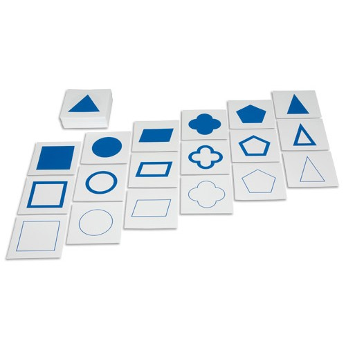 Nienhuis Montessori Geometric Form Cards