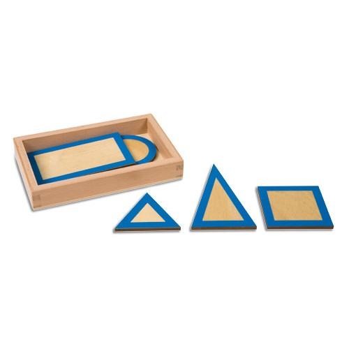 Nienhuis Montessori Geometric Plane Figures With Box