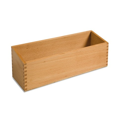 Nienhuis Montessori Double Sandpaper Letters Box
