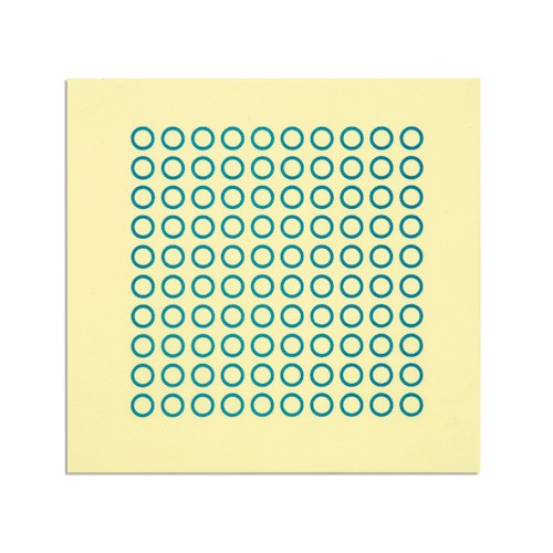 Nienhuis Montessori Sheet With 100 Circles
