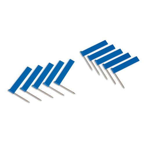 Nienhuis Montessori Extra Flags, Per 10, Blue