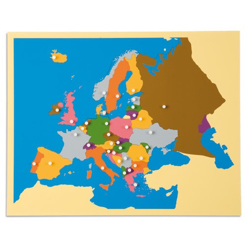 Nienhuis Montessori Puzzle Map Of Europe