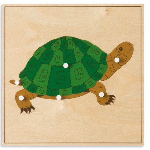 Nienhuis Montessori Animal Puzzle, Turtle