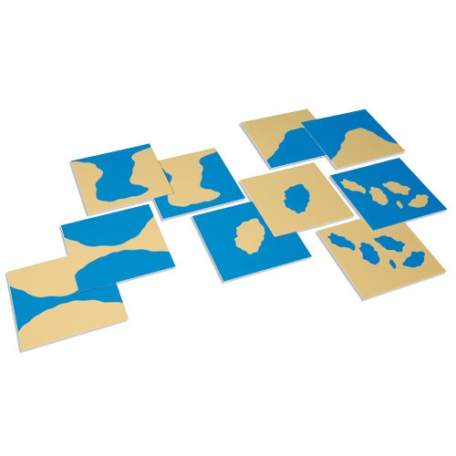 Nienhuis Montessori Land Form Cards