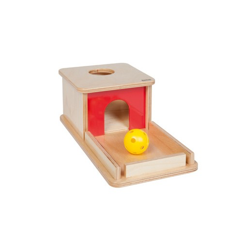 Nienhuis Montessori Object Permanence Box With Tray
