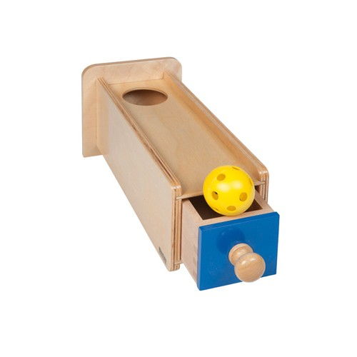 Nienhuis Montessori Object Permanence Box With Drawer