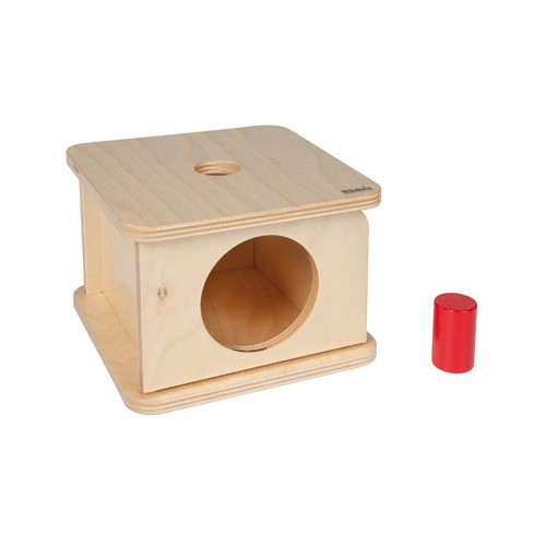 Nienhuis Montessori Imbucare Box With Small Cylinder
