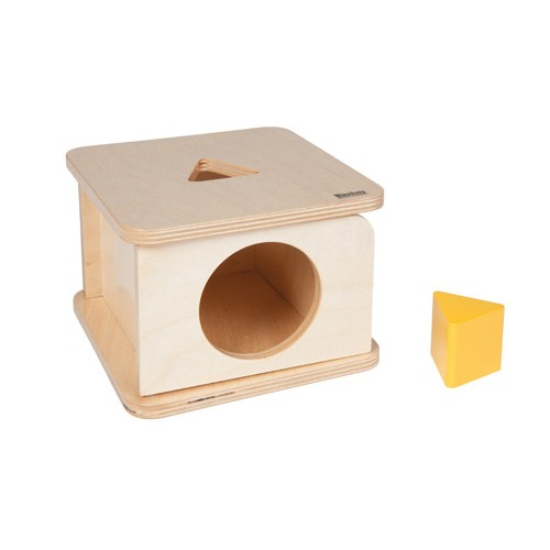 Nienhuis Montessori Imbucare Box With Triangle Prism