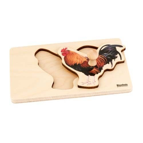Nienhuis Toddler Puzzle: Rooster