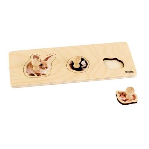 Nienhuis Toddler Puzzle: 3 Rodents