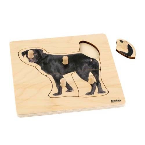 Nienhuis Toddler Puzzle: Dog (NL)