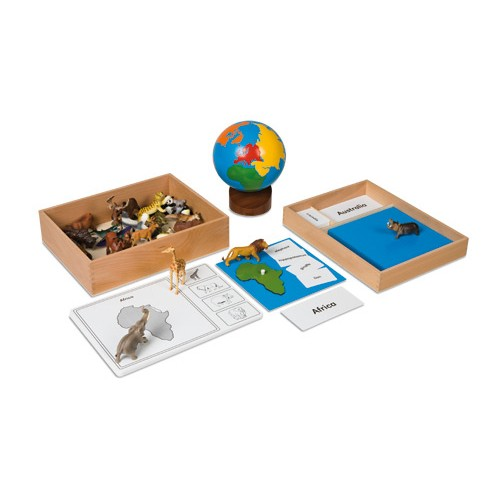Nienhuis Montessori The Continent Box