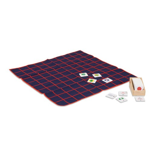 Nienhuis Montessori Numeral Cards for Small Rug