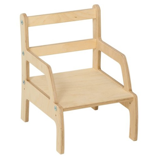Nienhuis Montessori Weaning Chair: Adjustable Height (13 to 16 cm)