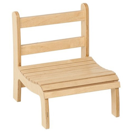 Nienhuis Montessori Slatted Chair: Low (13 cm)