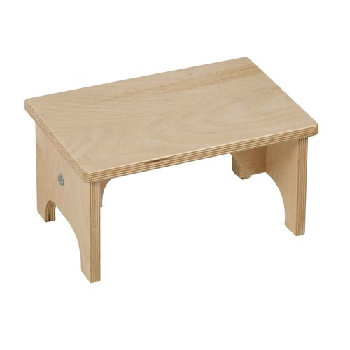 Nienhuis Montessori Toddler Work Stool: Small (30.5 x 20.5 x 16.5 cm)